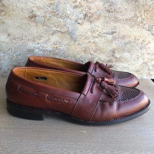 Allen Edmonds Cody Loafers Tassels Weave Mens 9